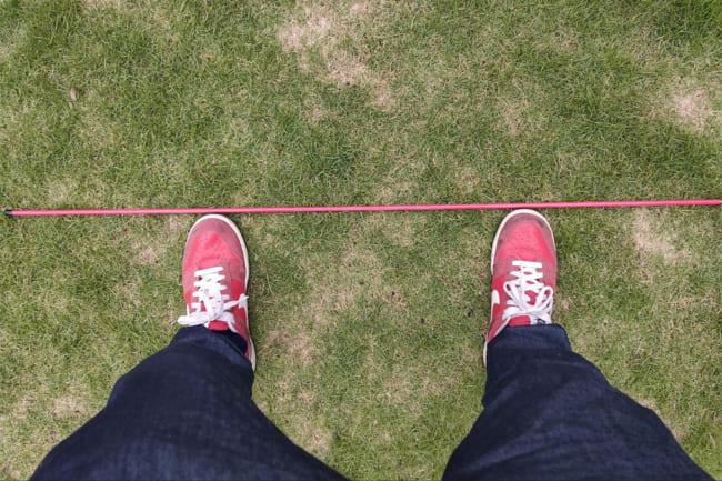 【簡単説明】ゴルフで大切なスタンスについて! 立ち方によって球は大きく曲がります